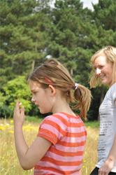 Mireille met haar dochter Zoë
