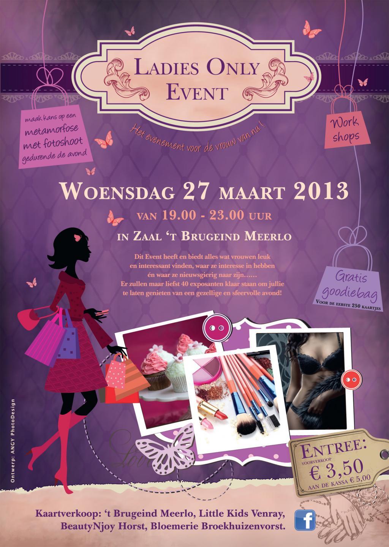 Ladies Only Event Meerlo